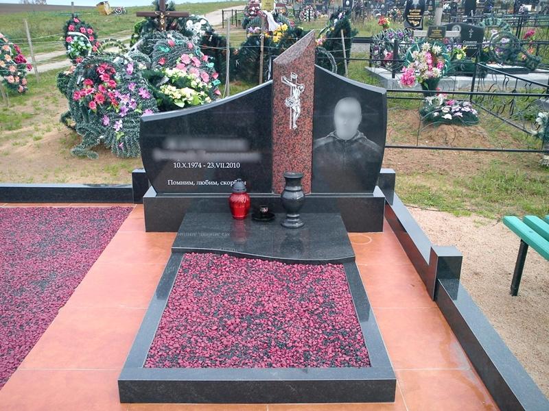 Оформление могилы своими руками фото 605